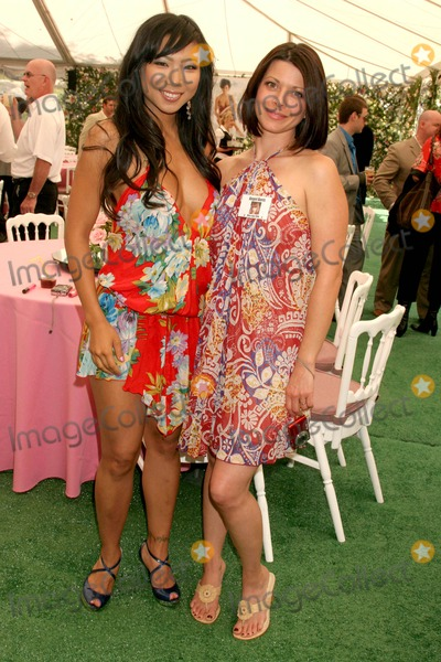 Angel Boris Photo - Hiromi Oshima and Angel Boris Reed at the 2008 Playmate of the Year Luncheon Playboy Mansion Holmby Hills CA 05-08-08