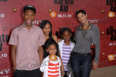Nicole Mitchell Murphy Photo - Nicole Mitchell Murphy and family at The Karate Kid Los Angeles Premiere Mann Village Theatre Westwood CA 06-07-10