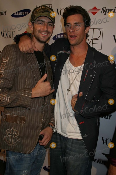 Alex Mitchell Photo - Andrew Gallery and Alex Mitchell at a party thrown by Samsung and Vogue to launch the Limited Edition Diane Von Furstenberg Designer Mobile Phone Astra West Pacific Design Center West Hollywood CA 10-15-04