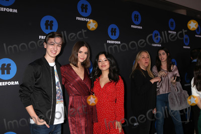 Maia Mitchell Photo - Hayden Byerly Maia Mitchell Cierra Ramirezat the Freeform Summit 2018 NeueHouse Hollywood CA 01-18-18