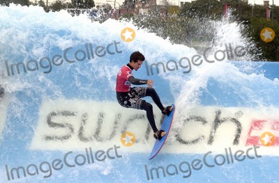 Queen Photo -  Rob Machado at the Swatch Wave Tour surf competition and rock concert at the Queen Mary in Long Beach 02-02-00