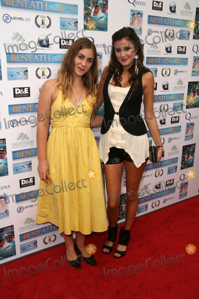 Caitlin Wachs Photo - Caitlin Wachs and Zoe Myersat a screening of Beneath the Blue at the Hollywood Film Festival Arclight Hollywood CA 10-23-10