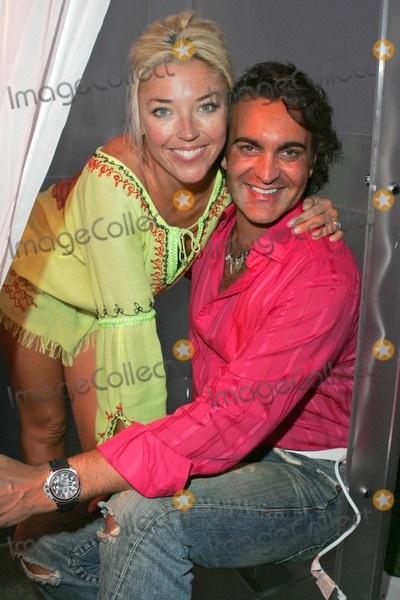 Lara Shriftman Photo - Tamara Beckwith and Martyn Lawrence-Dullard at the party honoring Lara Shriftman and Elizabeth Harrison and the launch of their new book Fete Accompli The Ultimate Guide To Creative Entertaining at a private residence Malibu CA 08-28-04