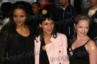 Sydney Poitier Photo - Sydney Tamiia Poitier with Rosario Dawson and Marley Sheltonat the Los Angeles Premiere of The Number 23 The Orpheum Theater Los Angeles CA 02-13-07