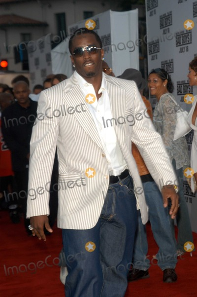 Diddy Combs Photo - Sean P Diddy Combs at the premiere of Columbia Pictures Bad Boys II at Mann Village and Bruin Theaters Westwood CA 07-09-03