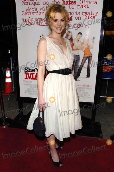 Alex Breckenridge Photo - Alex Breckenridgeat the premiere of Shes The Man Mann Village Theatre Westwood CA 03-08-06