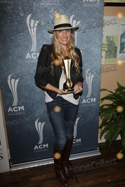 Holly Williams Photo - Holly Williamsat the 7th Annual ACM Honors Ryman Auditorium Nashville TN 09-10-13