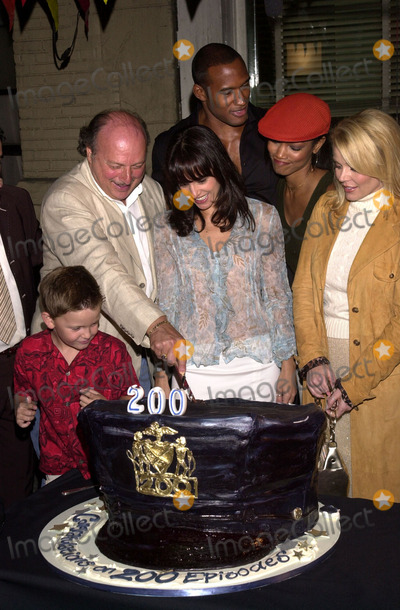 Austin Majors Photo - Jacqueline Obradors Dennis Franz Austin Majors Henry Simmons Garcelle Beauvais-Nilson and Gail OGrady at the party honoring the 200th episode of NYPD BLUE 20th Century Fox Studios Cebtury City CA 09-07-02