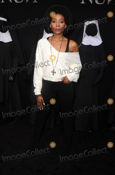 ASH Photo - Erica Ashat The Nun World Premiere TCL Chinese Theater Hollywood CA 09-04-18