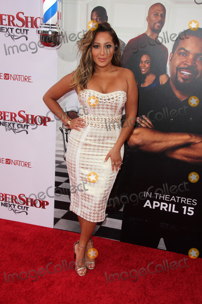 Adrienne Bailon Photo - Adrienne Bailonat the Barbershop The Next Cut Premiere TCL Chinese Theater Hollywood CA 04-06-16