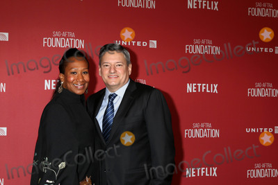 Avant Photo - Nicole Avant Ted Sarandosat the SAG-AFTRA Foundations Patron of the Artists Awards 2017 Wallis Annenberg Center for the Performing Arts Beverly Hills CA 11-09-17