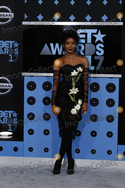 Ajiona Alexus Photo - Ajiona Alexusat the BET Awards 2017 Microsoft Theater Los Angeles CA 06-25-17