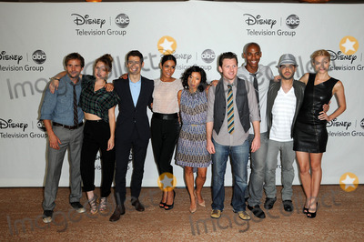 ANNE SON Photo - Michael Stahl-David Kelli Garner Julian Morris Daniella Alonso Anne Son Keir ODonnell Mehcad Brooks Sebastian Suzzi and Jaime King at the Disney ABC Television Group Summer 2010 Press Tour Beverly Hilton Hotel Beverly Hills CA 08-01-10