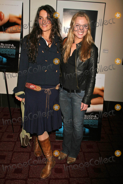 Agnes Bruckner Photo - Katja Von Garnier and Agnes Brucknerat the Premiere of Blood and Chocolate Arclight Cinemas Hollywood CA 01-25-07