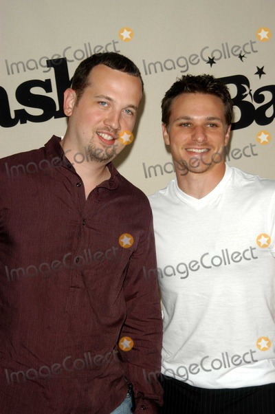 Andrew Johns Photo - Justin Paul Jeffre and Andrew John Lachey at the MTV Bash honoring Carson Daily Palladium Hollywood CA 06-28-03