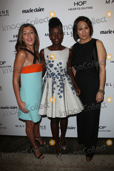 Anne Fulenwider Photo - Nina Garcia Lupita Nyongo Anne Fulenwiderat the Marie Claire Hosting Fresh Faces Party Soho House West Hollywood CA 04-08-14