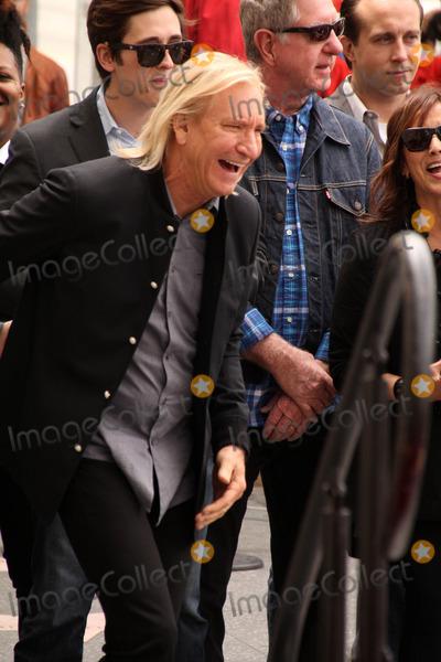 Joe Walsh Photo - Joe Walshat the Jeff Lynne Star on the Hollywood Walk of Fame Hollywood CA 04-23-15