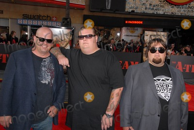 Austin Chumlee Russell Photo - Rick Harrison Corey Harrison and Austin Chumlee Russellat The A-Team Los Angeles Premiere Chinese Theater Hollywood CA 06-03-10