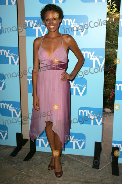 NICOLE PULLIAM Photo - Nicole Pulliamat the MyNetworkTV TCA Presentation featuring the shows Desire and Fashion House The Ritz Carlton Pasadena CA 07-20-06