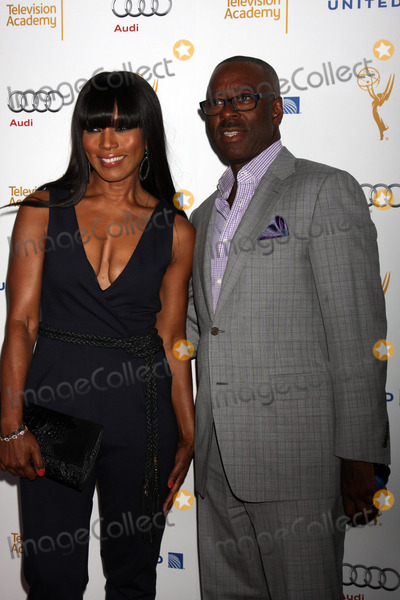 Courtney B Vance Photo - Angela Bassett Courtney B Vanceat the Television Academys Perfomers Nominee Reception Pacific Design Center West Hollywood CA 08-23-14