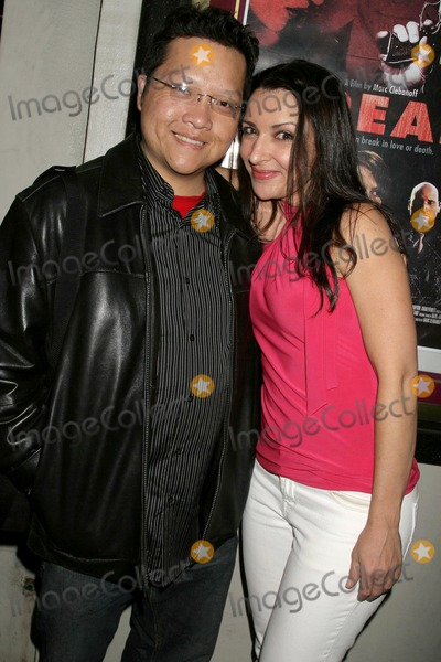 Anastasia Fontaines Photo - Edwin A Santos and Anastasia Fontainesat a Special Industry Screening of Break Laemmles Music Hall 3 Beverly Hills CA 05-01-09