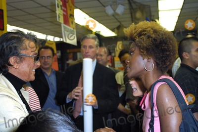 Yolanda Ross Photo - Robert Evans and Yolanda Ross at the in store autograph session for the release of The Kid Stays In The Picture soundtrack Tower Records West Hollywood CA 08-06-02