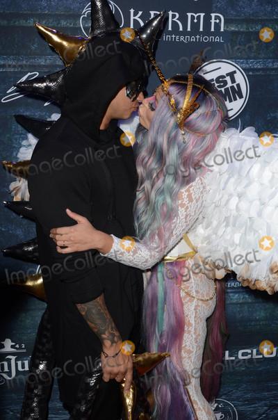 Aubrey ODay Photo - Mike Sorrentino Aubrey ODayat the 2016 Maxim Halloween Party Shrine Auditorium Los Angeles CA 10-22-16