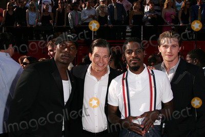Andre 3000 Photo - Andre 3000 Mark Wahlberg Tyrese Beckford and Garrett Hedlundat the 13th Annual ESPY Awards - Arrivals Kodak Theatre Hollywood CA 07-13-05