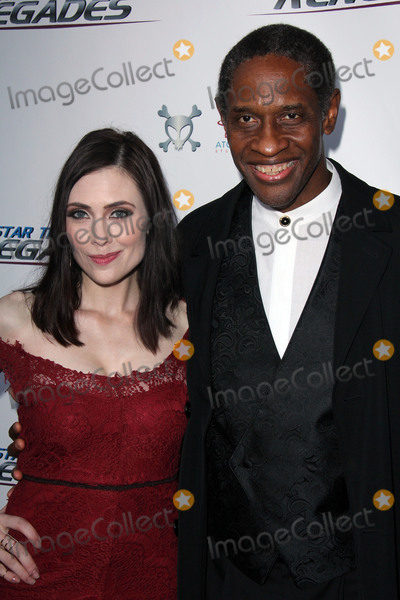 Adrienne Wilkinson Photo - Adrienne Wilkinson Tim Russat the Star Trek Renegades Premiere Crest Theater Westwood CA 08-01-15