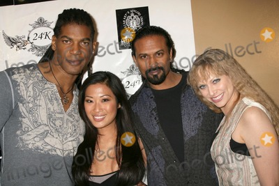 Amanda Rushing Photo - William Romeo and Lena Yada with Karim Imam and Amanda Rushing at the Birthday Bash For Hollywood Publicist Charmaine Blake 24k Lounge Hollywood CA 01-14-09