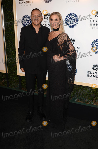 Ashlee Simpson Photo - Evan Ross Ashlee Simpsonat the Art of Elysium 10th Annual Black Tie Heaven Gala Red Studios Los Angeles CA 01-07-17