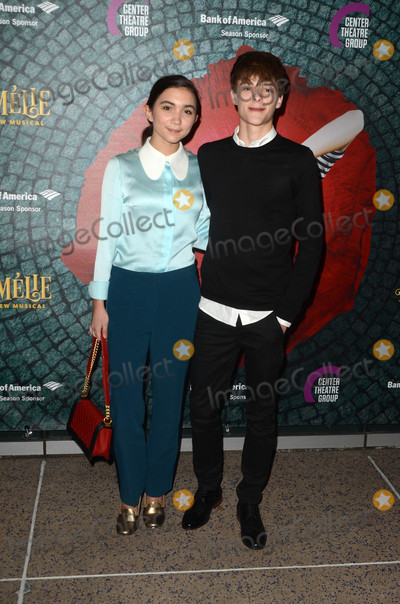 Rowan Blanchard Photo - Rowan Blanchardat the Amelie A New Musical Opening Ahmanson Theater Los Angeles CA 12-16-16