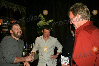 Chris Moore Photo - Ben Affleck Matt Damon and Chris Moore at the 3rd Project Greenlight Contest Presented by HP Highlands Hollywood CA 07-13-04