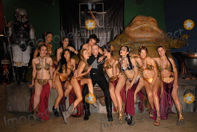 Shae Photo - Eliot Sirota Adrianne Curry Shae Strandefer Victoria Anna Kay Akana Paula Labaredas Jamin Fite Alicia Arden Natalie Atkins Annisse Jill Franklin and Bridget Lane Parksat the Slave Leia day tour and photo shoot with Jabba the Hutt featuring members of LeiasMetalBikinicom and CelebrityCosplaycom Gentle Giant Studios Burbank CA 07-16-10David EdwardsDailycelebcom 818-249-4998