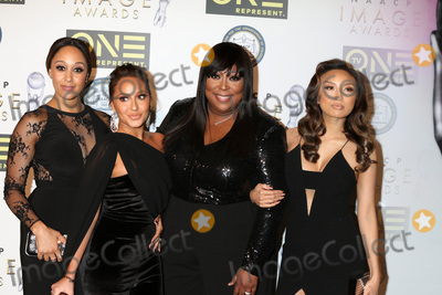 Adrienne Bailon Photo - Tamara Mowry-Housley Adrienne Bailon Houghton Loni Love Jeannie Maiat the Non-Televisied 48th NAACP Image Awards Pasadena Conference Center Pasadena CA 02-10-17
