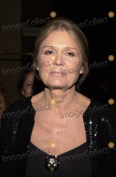 Genesis Photo - Gloria Steinham at the 2002 Genesis Awards presented by the Ark Trust honoring media who have spotlighted important animal issues  Beverly Hilton Hotel 03-16-02
