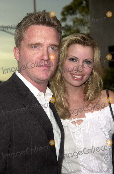 Anthony Michael Hall Photo - Anthony Michael Hall and date at the premiere of Open Range at the Cinerama Dome Hollywood CA 08-11-03
