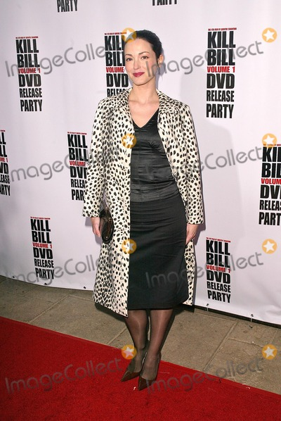 Julie Dreyfus Photo - Julie Dreyfus at the Kill Bill Vol 1 Video Release Party at the Playboy Mansion Beverly Hills CA 04-12-04
