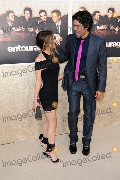 Alexis Dziena Photo - Alexis Dziena and Adrian Grenier at the Los Angeles Premiere of Entourage Season Six Paramount Theater Hollywood CA 07-09-09