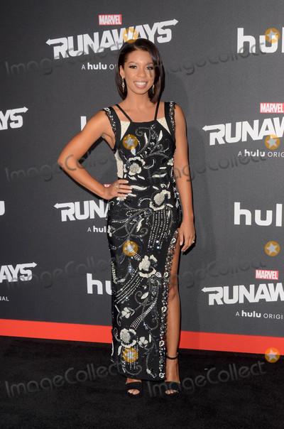 Angel Parker Photo - Angel Parkerat the Marvels Runaways Los Angeles Premiere Bruin Theater Westwood CA 11-16-17