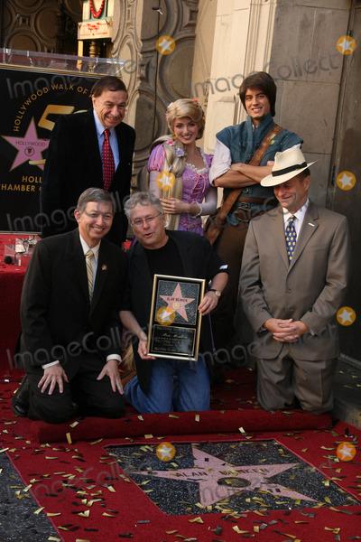 Alan Menken Photo - Richard Sherman Leron Gubler and Alan Menkenat the Alan Menken Hollywood Walk of Fame Star Ceremony El Capitan Theater Hollywood CA 11-10-10