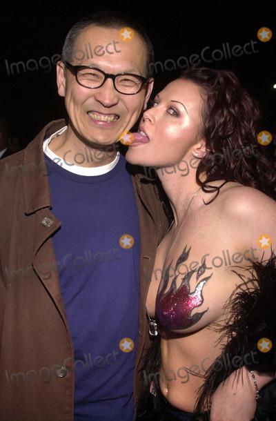 Wayne Wang Photo Wayne Wang And Alisha Klass At The Fashion Show And Premiere For