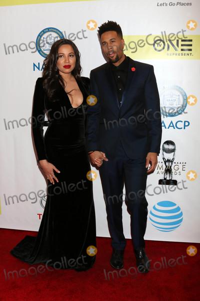 Josiah Bell Photo - Jurnee Smollett-Bell Josiah Bellat the 48th NAACP Image Awards Arrivals Pasadena Conference Center Pasadena CA 02-11-17