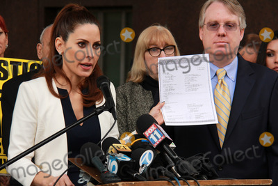 Casey Kasem Photo - Kerri Kasem Troy Martinat Casey Kasems Family Press Conference Stanley Mosk Courthouse Los Angeles CA 01-30-15