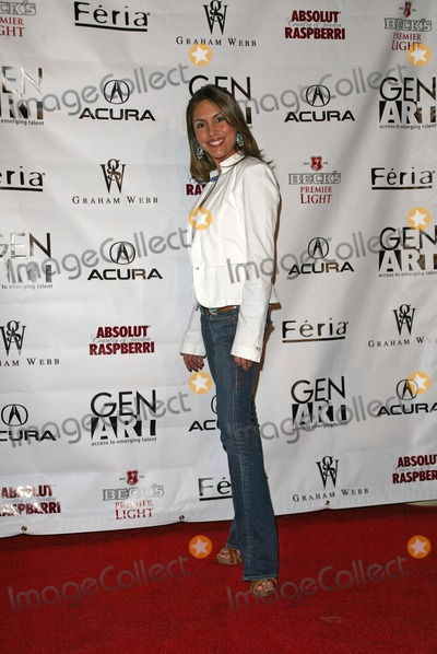 Angie Ruiz Photo - Angie Ruiz at the Gen Art Fall 2005 LA Fashion Week Kick Off Party  MOCA Geffen Contemporary Museum Los ANgeles CA 03-14-05