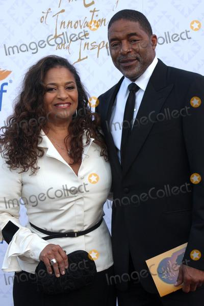 Alfred Mann Photo - Debbie Allen Norm Nixonat the 10th Alfred Mann Foundation Gala Robinson-May Lot Beverly Hills CA 10-13-13