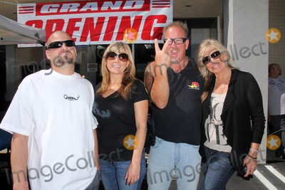 Brandi Passante Photo - Jarrod Schulz Brandi Passante Darrell Sheetsat the Grand Opening of Storage Wars Jarrod Schulz and Brandi Passantes new Now and Then Secondhand Store Orange CA 10-08-11
