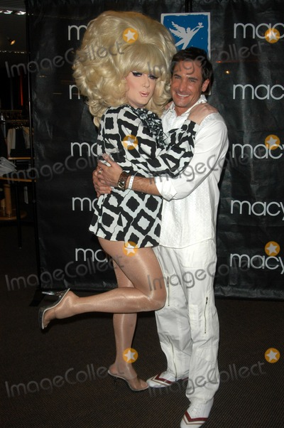 Lawrence Zarian Photo - Lady Bunny and Lawrence Zarian at FEVER - a fashion gala to benefit Project Angelfood presented by Macys and Details Magazine Macys Mens Store Beverly Hills CA 03-13-03