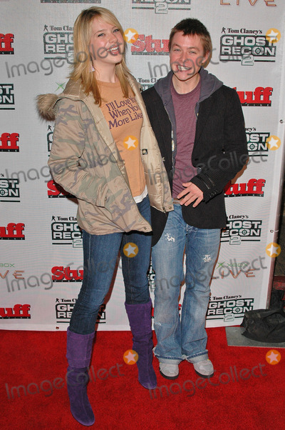 Annie Burgstede Photo - Annie Burgstede and Cole Williams at Tom Clancys Ghost Recon 2 Launch Party to benefit Armed Forces Foundation at the House of Blues West Hollywood CA 12-08-04