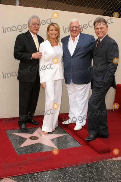 Alex Trebek Photo - Alex Trebek and Vanna White with Merv Griffin and Pat Sajakat the Ceremony honoring Vanna White with a star on the Hollywood Walk of Fame Hollywood Boulevard Hollywood CA 04-20-06